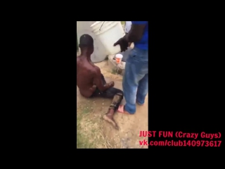 X thief caught savage africa ghana embarrassing член хуй голый naked nude cock penis public