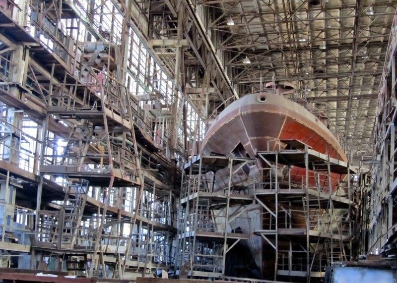 Строительство для ВМС Украины разведывательного корабля из рыболовного траулера проекта 502ЭМ