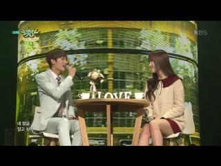 160318 ✰ Yuju & Sunyoul (Up10tion) - Cherish ✰ Music Bank