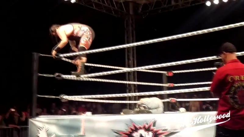 Chuey Martinez vs. Mosh Pit Mike vs. Mad Man Pondo [Hardcore Match]