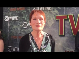 20/05/2017: Wendy Robie chats top secret Twin Peaks limited series on premiere red carpet