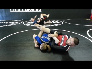 Full Guard Sweep, Kimura Switch
