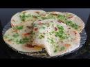 ЛЕПЕШКИ НА КЕФИРЕ С ЗЕЛЕНЬЮ Индийский ЛАВАШ НААН - Indian NAAN bread recipe - Banh xeo An do