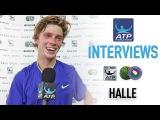 Rublev Gets Set For Biggest Match Of Career Halle 2017