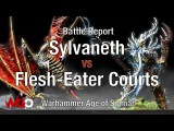 Warhammer Age of Sigmar Sylvaneth vs Flesh-Eater Courts Battle Report