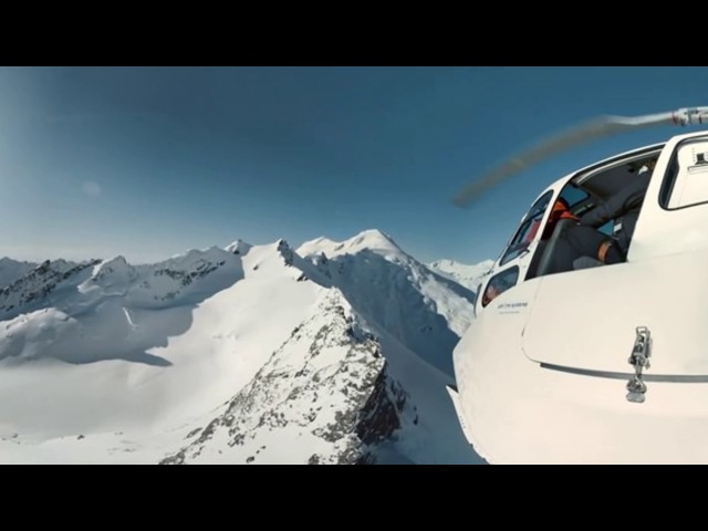 Samsung BeFearless: Fear of Heights – Heli-skiing in 360°