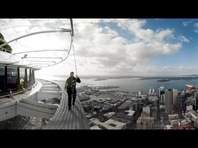 Samsung BeFearless: Fear of Heights – Skywalk in 360°