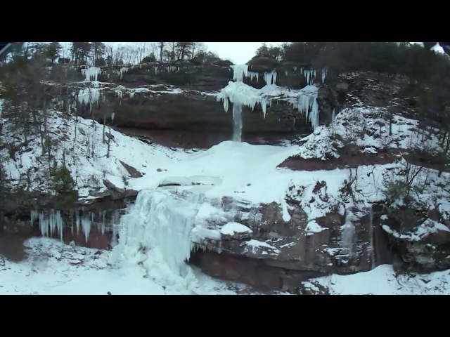 Kaaterskill Fallls, NY - DJI Inspire 1 Drone - Samsung Gear 360 VR