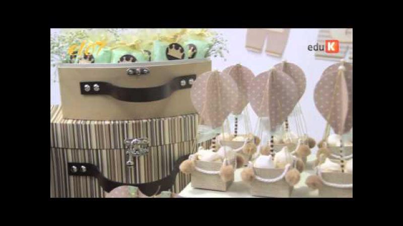 Curso online de Cartonagem: decoração para bebês | eduK.com.br