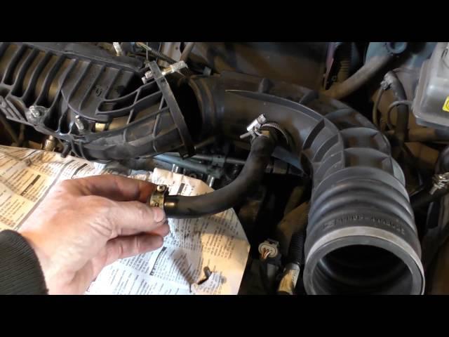 Неисправный датчик положения дроссельной заслонки на автомобиле ВАЗ