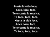Fly Project - Toca Toca Lyrics Video