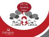 CPE Speaking Exam Successful Candidate
