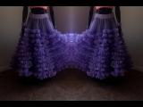 How to Make Designer Ruffled DIY Skirt   Zip Method  