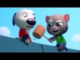 ТОМ и АНДЖЕЛА бег за ЗОЛОТОМ #22 - ОТКРЫЛИ БЭНА! Игровой мультик для детей про КОТИКА Tom Gold Run