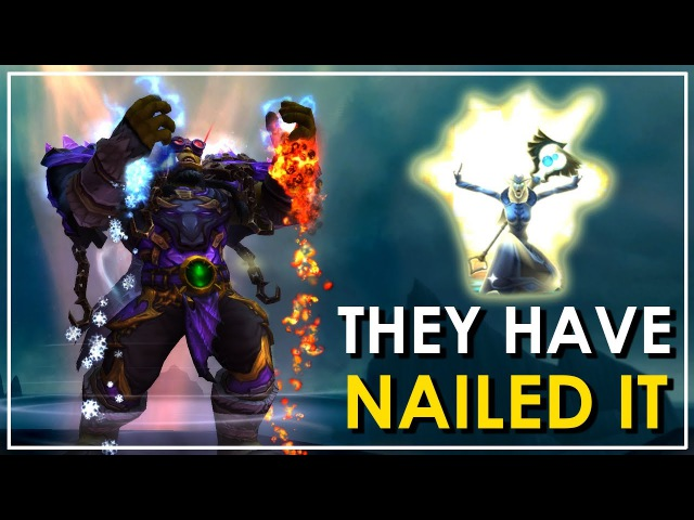 Patch 7.3 Caster Overhaul: New Animations, Effects Sounds! (Priest, Druid, Mage, Shaman)