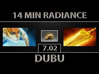 DuBu Naga Siren Fast Farm ► Radiance Rush ► Dota 2 [7.02]