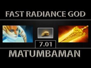 MATUMBAMAN Naga Siren ► Fast Radiance God ► Dota 2 [7.01]