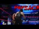 WWE Roman Reigns vs Braun Strowman Highlights HD — Payback 2017