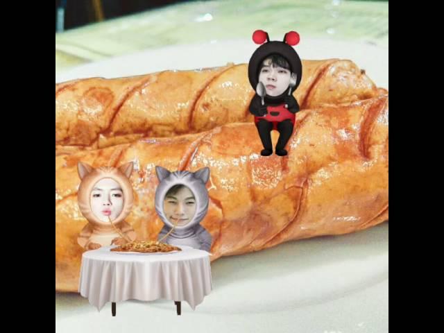 Myungyeol ft poor Woohyun 😁😁😁
