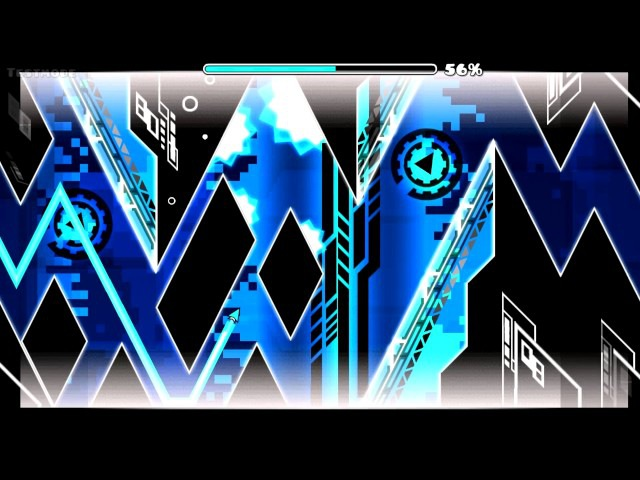 Geometry Dash l Blade of Justice (Extreme Demon) by Manix and Lazerblitz (Full Level)