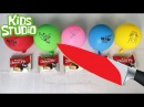 Glowing 1000 degree KNIFE vs Choco Pie and Jelly, Learn colors Balloons Finger Family For Kids