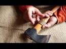 Намотка паракорда на топорище просто и эффективно
