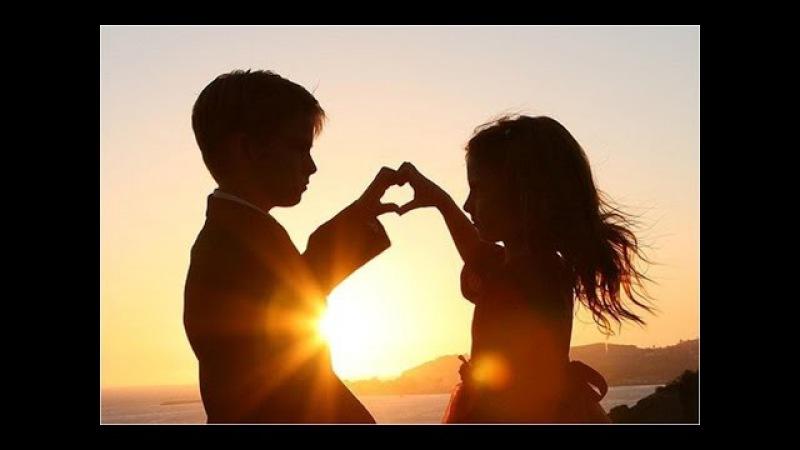Веселые детские песни: А ты меня любишь - Ага: Первая любовь