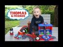 ЧАГГИНГТОН Железная Дорога Веселые Паровозики Брюстер, Уилсон и Томас играют на...