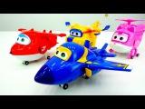 Распаковка ✈СУПЕР КРЫЛЬЯ✈ #Джетт и его друзья из мультика про самолетики и маши...