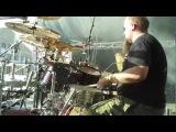 Finntroll Solsagan Live @ Tuska 2012 Drum Cam