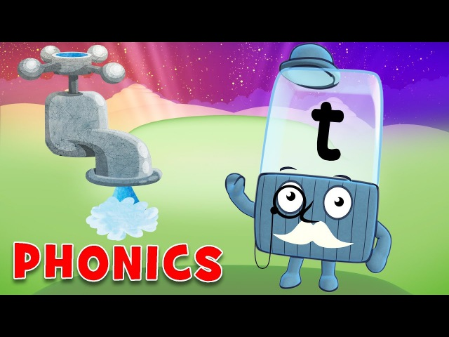Learn to Read Phonics for Kids Learning Letters T A P S