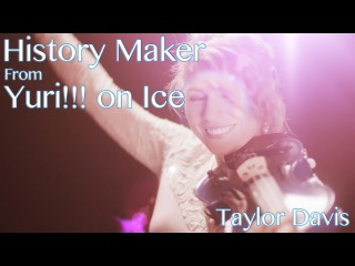Yuri on Ice Opening Theme - History Maker (Violin Cover) Taylor Davis