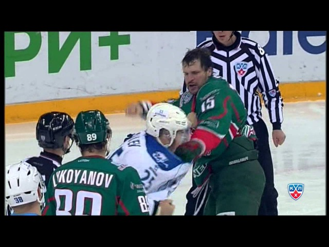 Бой КХЛ Свитов VS Рыспаев KHL Fight Svitov VS Ryspayev
