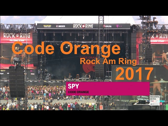 Code Orange @ Rock Am Ring 2017 [1080p] 50fps