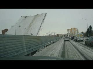 В Усть-Каменогорске развело старую часть моста