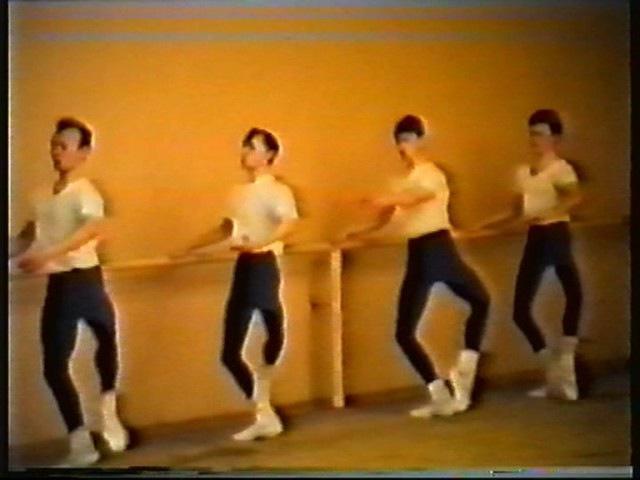 Госэкзамен по классическому танцу. МГИК. 1994 год.