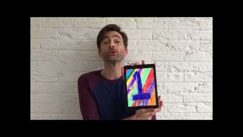 Circle's Patron David Tennant judges our Father's Day Card Competition 2017