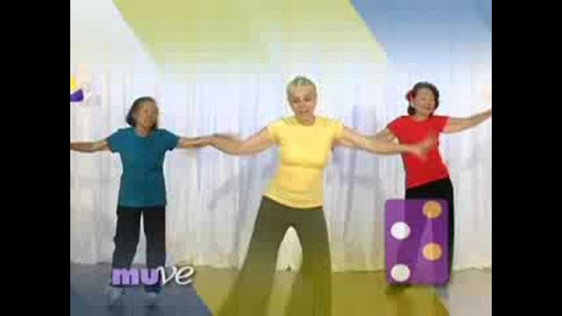 Easy Dance Exercise for Seniors, Athletes and Kids - All in ONE!