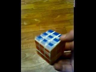 Как собрать кубик-рубика 3*3,обучение по сборке.