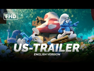 ENG | US-Трейлер: «Смурфики. Затерянная деревня / Smurfs׃ The Lost Village - Official Teaser Trailer» 2017