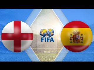 Англия 2:2 Испания | Товарищеские матчи 2016 | Обзор матча