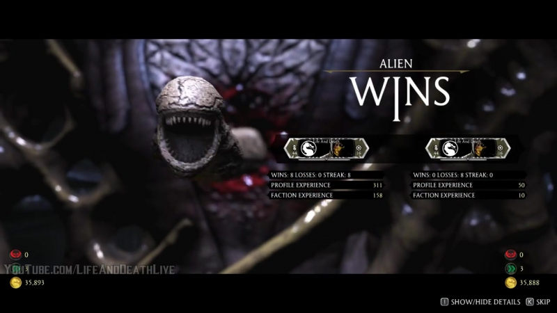 Mortal Kombat XL - Alien Chestburster on All Characters-NPCs (Including Baraka)