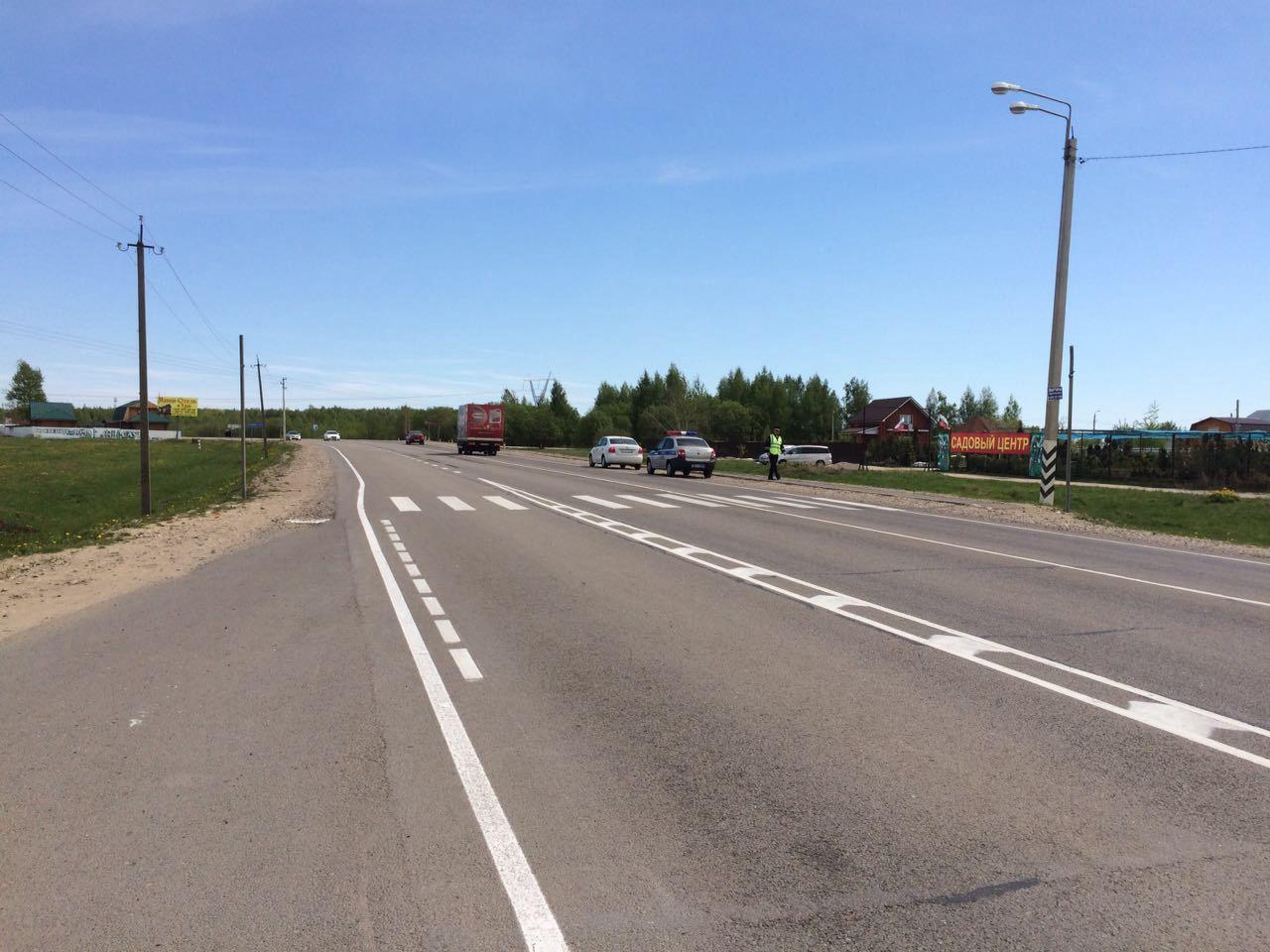 В результате ДТП пострадал пешеход