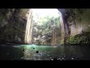 Подземное озеро Ик Киль (Cenote Ik Kil), Мексика.