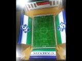 Самарские школьники изготовили макет стадиона
