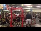 Дэвид Рикс - присед 310 кг на 3 повтора