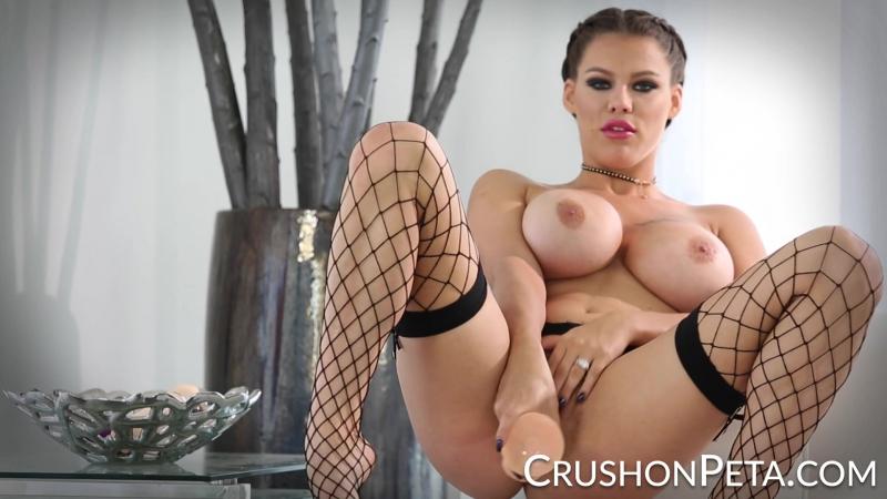 Peta Jensen [HD 1080, Brunette, Big Tits, Sex Toys, Solo, Masturbation, Porn 2017]