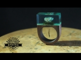 кольцо из Палисандра