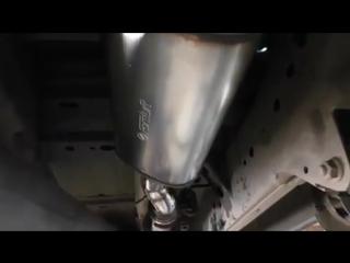 Глушитель серии FLOW от Fortluft.com на Dodge Ram 1500 (спасибо за видео@adt_tuning) •