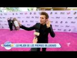 Video de Jorge bailando en la alfombra magenta para el programa Un Nuevo Día